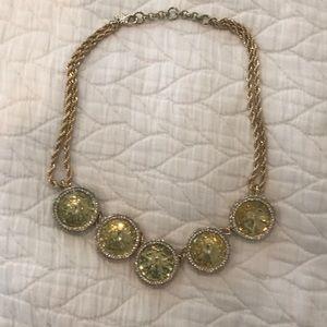 Banana Republic crystal necklace